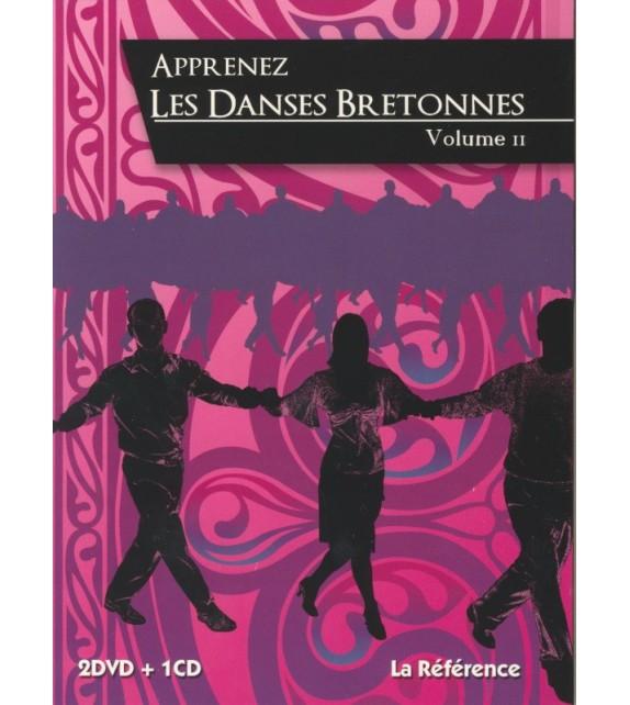 DVD APPRENEZ LES DANSES BRETONNES - Vol 2