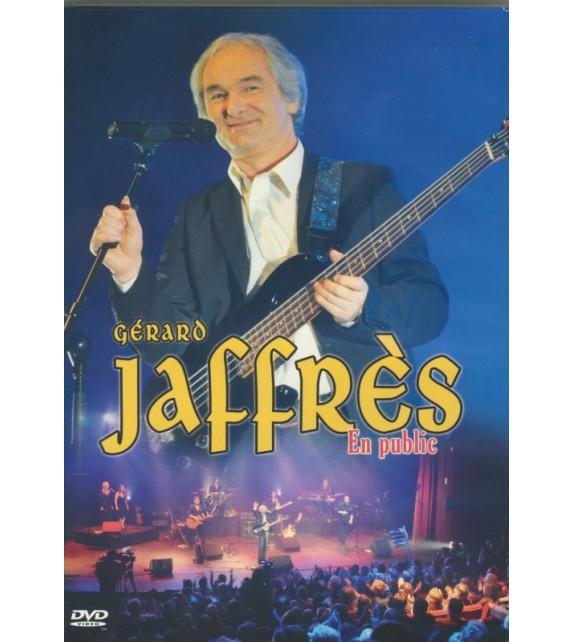 DVD GÉRARD JAFFRÈS EN PUBLIC