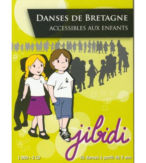 DVD JIBIDI - DANSES DE BRETAGNE ACCESSIBLE AUX ENFANTS