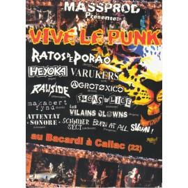 DVD VIVE LE PUNK 2009
