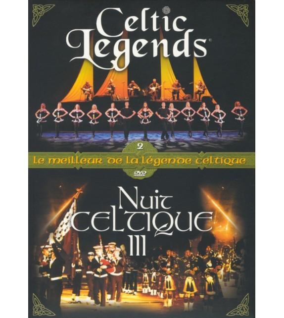 COFFRET DVD NUIT CELTIQUE 3 et CELTIC LEGENDS (4015536)