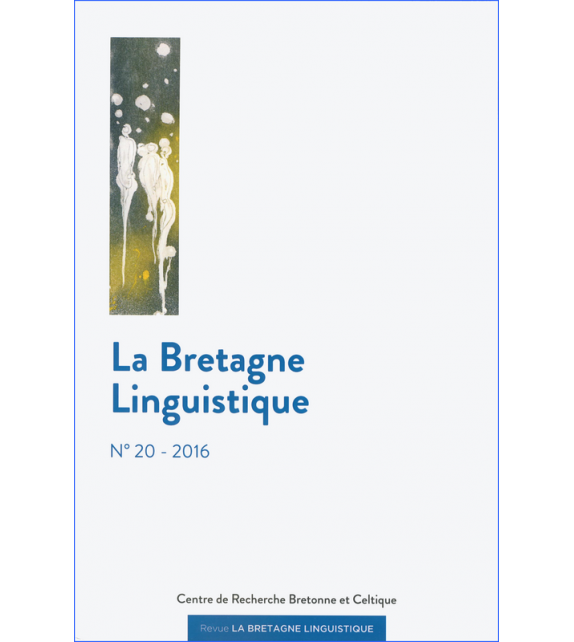 BRETAGNE LINGUISTIQUE - Volume 20