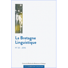 LA BRETAGNE LINGUISTIQUE - Volume 20