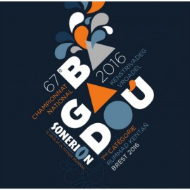 CD-DVD CHAMPIONNAT DES BAGADOU - BREST BAGADOU 2016
