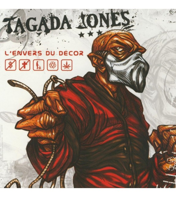 CD TAGADA JONES - L'ENVERS DU DECOR