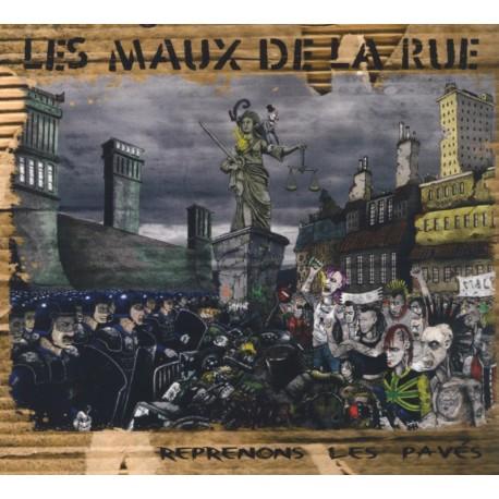 CD LES MAUX DE LA RUE - REPRENONS LES PAVES