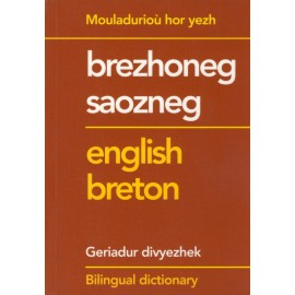 DICTIONNAIRE BRETON ANGLAIS - BILINGUAL DICTIONARY ENGLISH BRETON