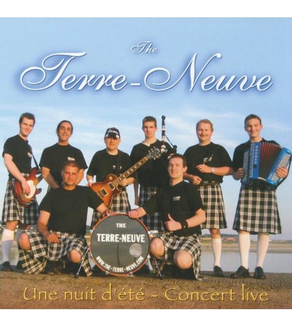 CD THE TERRE NEUVE - UNE NUIT D'ETE CONCERT LIVE