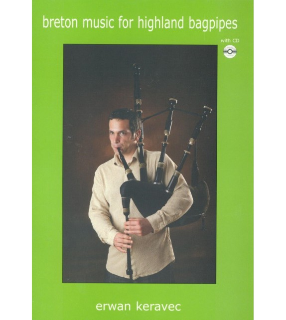 BRETON MUSIC FOR HIGHLAND BAGPIPES + CD