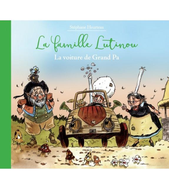 LA VOITURE DE GRAND PA - La famille Lutinou