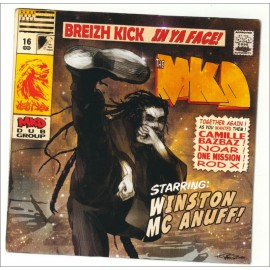 CD MYSTY K DUB - Breizh Kick in Ya Face !