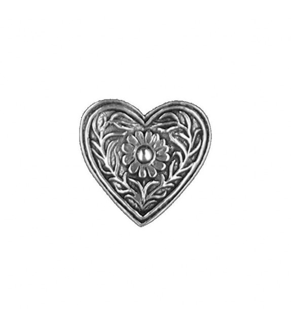 BROCHE COEUR DE COSTUME GRAND (6010108)