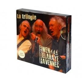CD COFFRET EWEN DELAHAYE FAVENNEC - La Trilogie