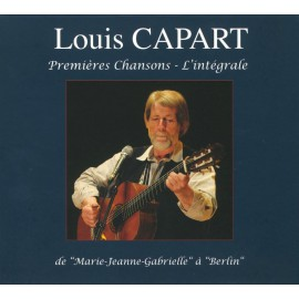 CD LOUIS CAPART - Premières chansons, l'intégrale