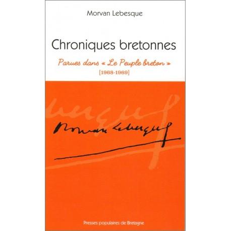 """CHRONIQUES BRETONNES parues dans """"Le Peuple breton"""" (1968-1969)"""