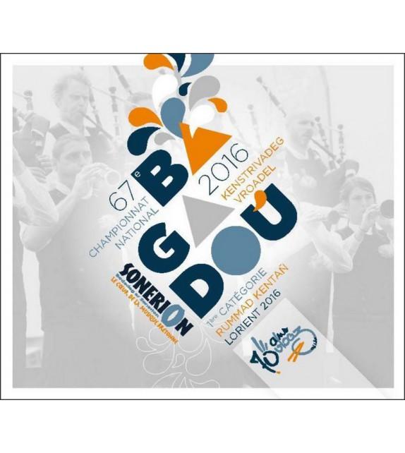 CD DVD CHAMPIONNAT DES BAGADOU - LORIENT 2016
