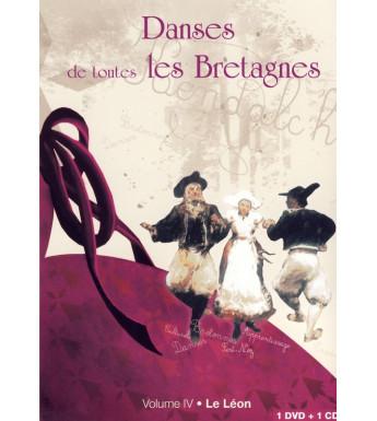 DVD DANSES DE TOUTES LES BRETAGNES 4 LE LEON + CD