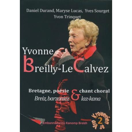 YVONNE BREILLY-LE CALVEZ - Bretagne, poésie, chant choral