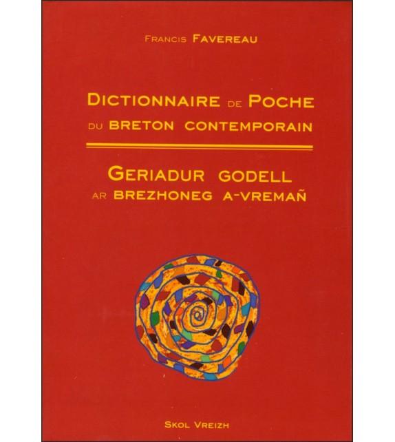 DICTIONNAIRE DE POCHE DU BRETON CONTEMPORAIN (B/F)