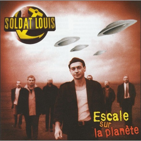 CD SOLDAT LOUIS - Escale sur ma planète