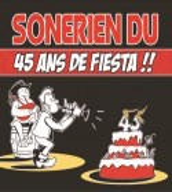 CD SONERIEN DU 45 ans de Fiesta !