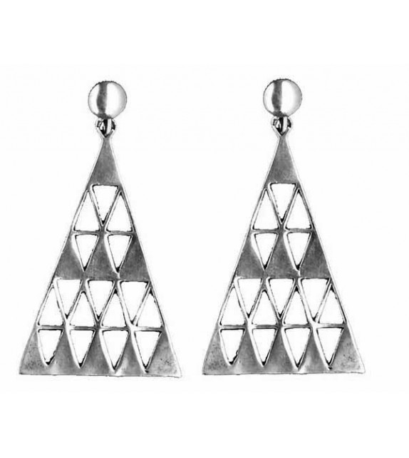 BOUCLES D'OREILLE TRIANGLE - Toulhoat
