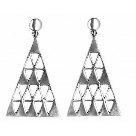 BOUCLES D'OREILLE TRIANGLE 11033