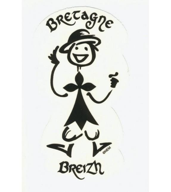 AUTOCOLLANT BRETON BRETAGNE