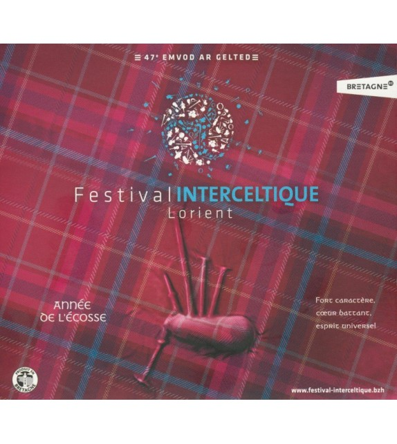 CD FESTIVAL INTERCELTIQUE DE LORIENT 2017- COMPILATION