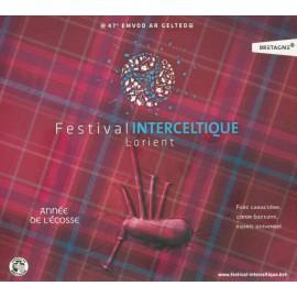 CD FESTIVAL INTERCELTIQUE DE LORIENT 2017- COMPILATION