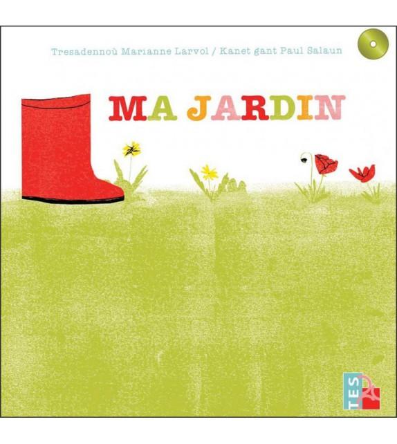 MA JARDIN - LIVRE CD