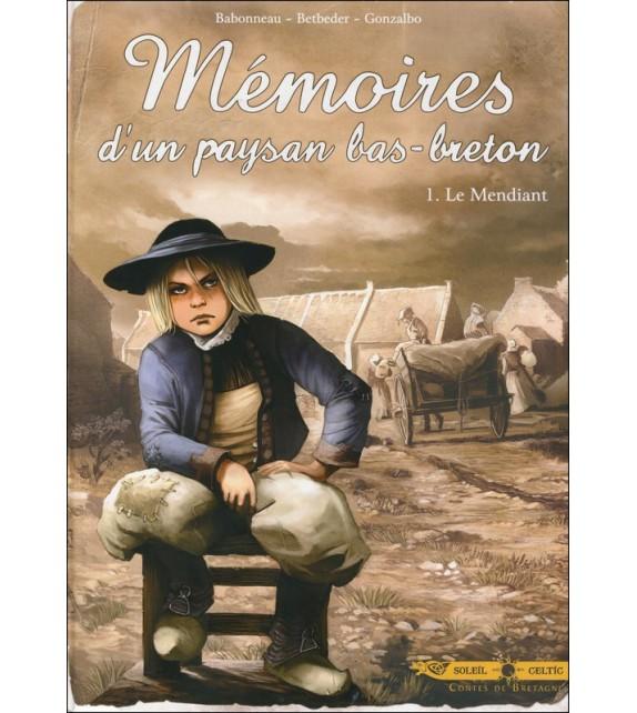 BD MÉMOIRES D'UN PAYSAN BAS-BRETON Tome 1 Le Mendiant (BD)