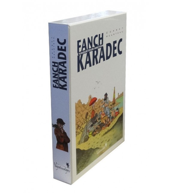 FAÑCH KARADEC LE COFFRET 4 TOMES