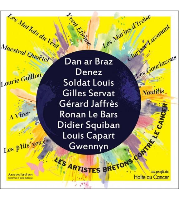 CD LES ARTISTES BRETONS CONTRE LE CANCER