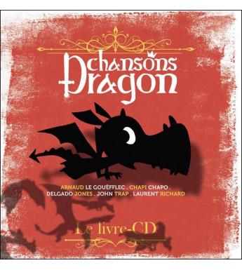 CHANSONS DRAGON - Livre CD