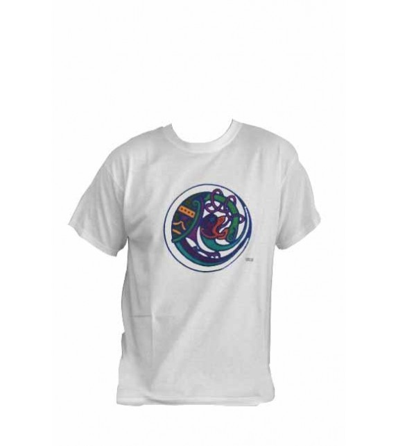 TEE SHIRT BLANC BITING HEADS (6010936)