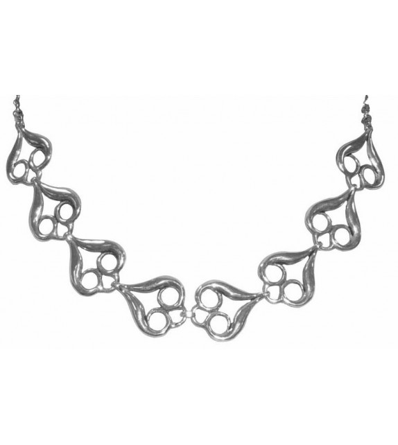 COLLIER FLAMMES - Toulhoat