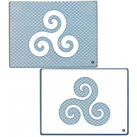 SET 2 MINI PLANCHES BLEUENN