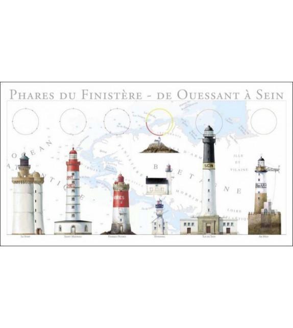 SERVIETTE COLLECTOR PHARES DU FINISTÈRE