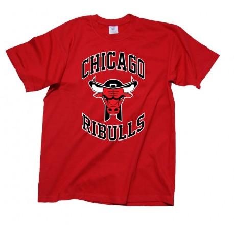 TEE SHIRT CHICAGO RIBULLS