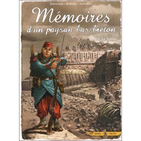 BD MÉMOIRES D'UN PAYSAN BAS-BRETON Tome 2 Le Soldat (BD)