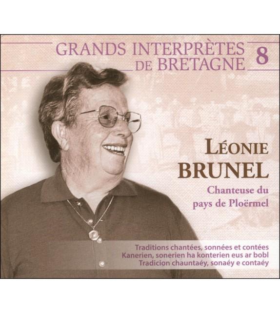 CD LÉONIE BRUNEL - CHANTEUSE DU PAYS DE PLOËRMEL