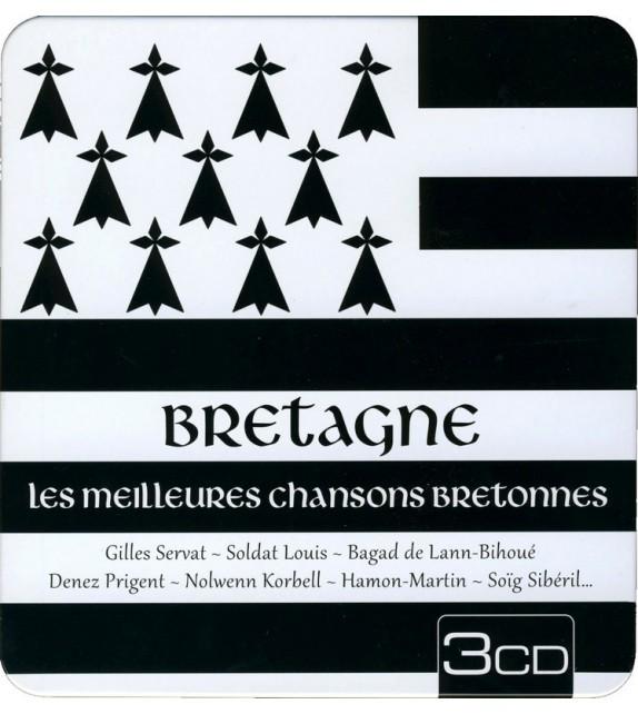CD BRETAGNE LES MEILLEURES CHANSONS BRETONNES