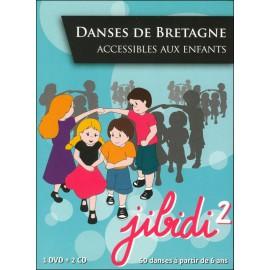 DVD JIBIDI 2 - DANSES DE BRETAGNE ACCESSIBLES AUX ENFANTS