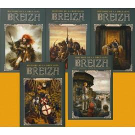 BREIZH HISTOIRE DE LA BRETAGNE Bande dessinée