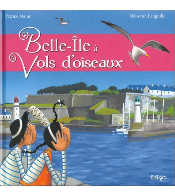 BELLE-ÎLE À VOL D'OISEAU