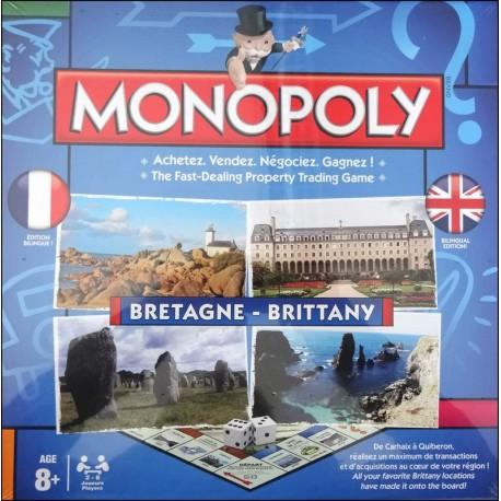 MONOPOLY BRETAGNE BILINGUE FRANÇAIS ANGLAIS