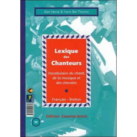 LEXIQUE DES CHANTEURS - GERIADUR AR GANERIEN