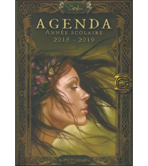 AGENDA SCOLAIRE DES FÉES 2018-2019