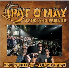 CD PAT O'MAY - One night in Breizh Land